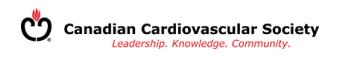 Canadian Cardiovascular Society