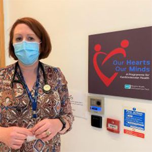 """Our Hearts Our Minds """"Fibricheck App"""" is a World First for Cardiology Patients in the Western Trust Area"""